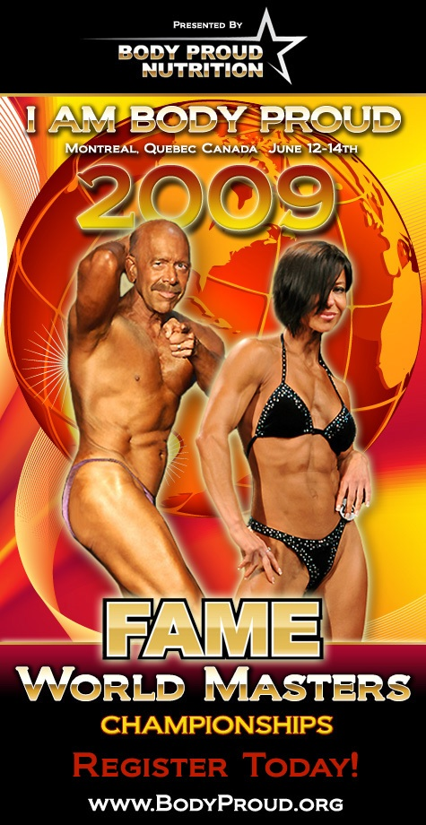2009 FAME Masters Poster Scott Hults