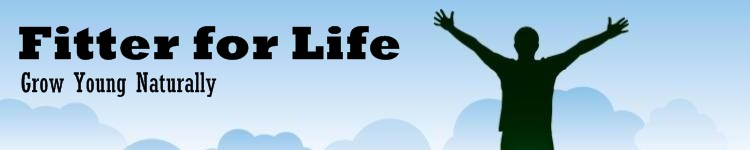 Fitter for Life webpage header